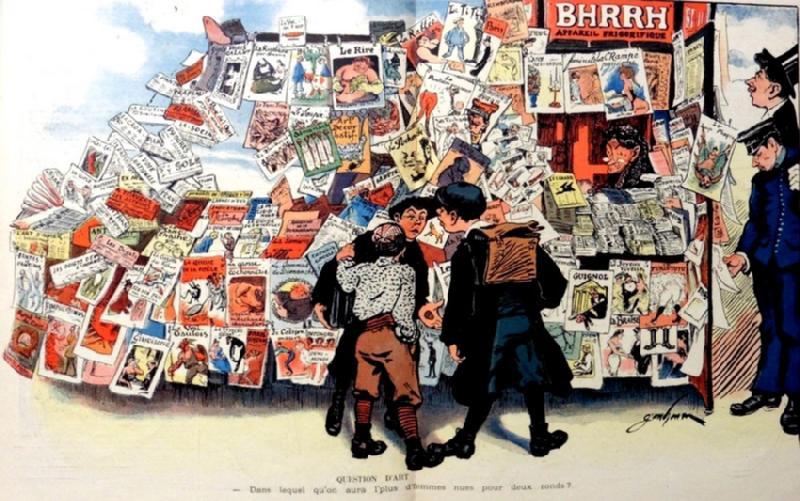 journaux satiriques français